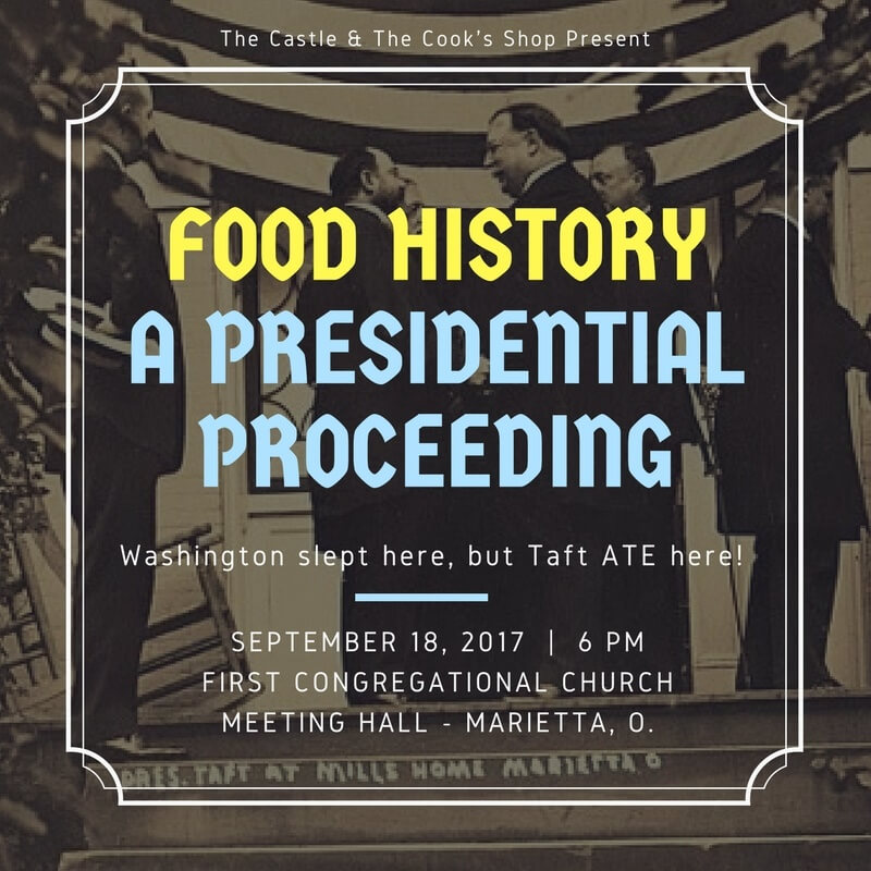 Food History: A Presidential Proceeding
