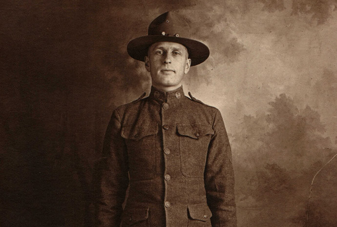 """Cemetery Tours: """"Over There!"""" The WWI Soldiers of Mound Cemetery"""