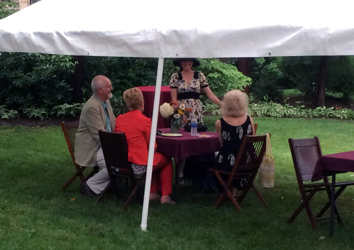 The Castle's Annual Garden Party Fundraiser