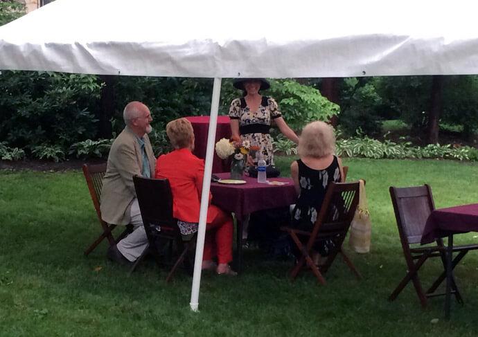 The Castle's Annual Garden Party Fundraiser