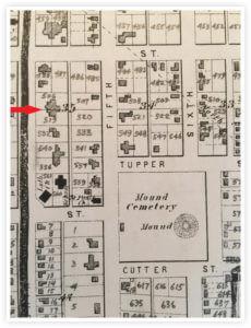 The Castle John Newton Residence Atlas 1875