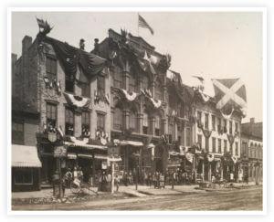 Marietta Centennial Front St 1888