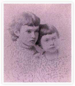 Jessie, Grace Davis as children