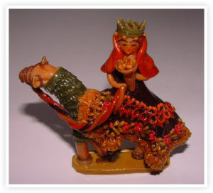Ecuador Creche Figurine from Bertlyn Bosley