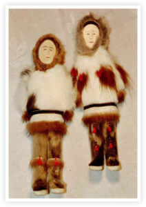 Eskimo Keepsakes Figurines from Bertlyn Bosley