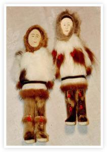Eskimo Keepsakes Figurines from Bertlyn Bosley