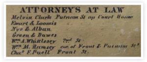 Melvin Clarke Attorney 1858 Atlas Listing