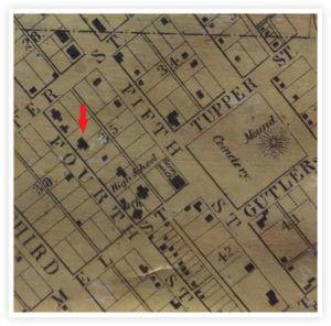 The Castle Melvin Clarke Residence 1858 Atlas