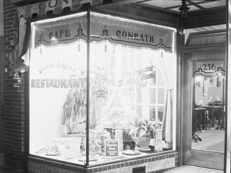 castle food history german