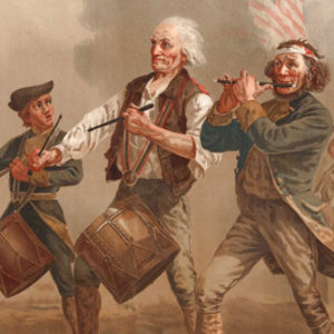 Patriots drumming