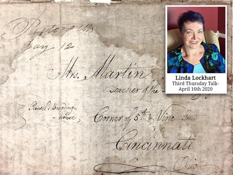Third thursday talk with Linda Lockhart
