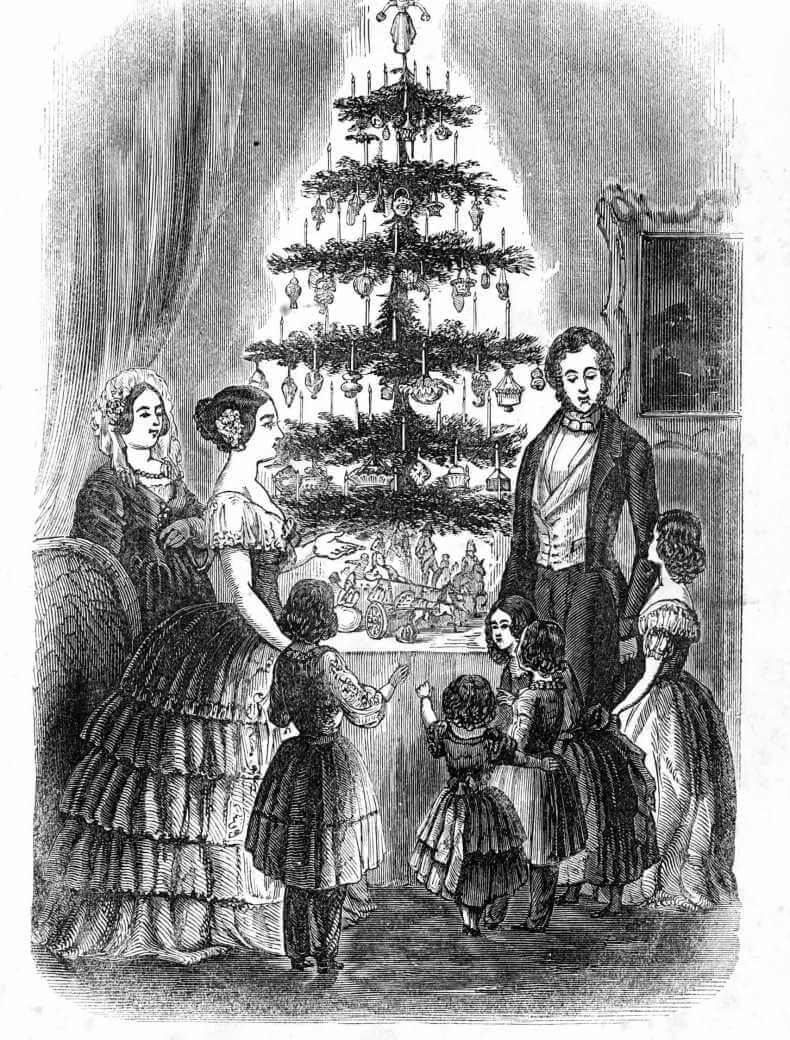 victorian christmas decor
